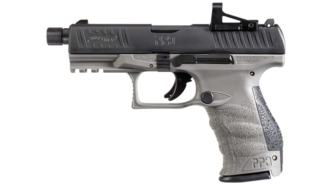 Walther PPQ M2 Q4 TAC pistol shield sight Combo