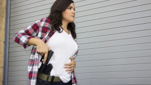 women carrying concealed self defense