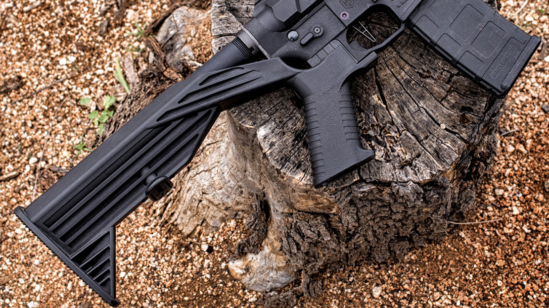 Slide Fire SSAR-15 OGR bump stocks