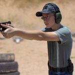Pistol grip ways to hold a handgun youth shooter