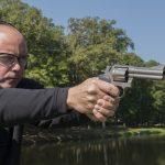revolver hammer shooting