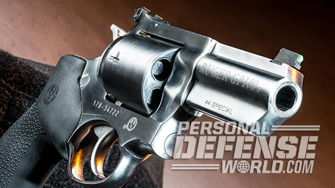 ruger gp100 review revolver right angle
