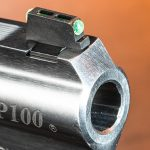 ruger gp100 review revolver front sight