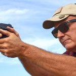 arex rex pistol shooting