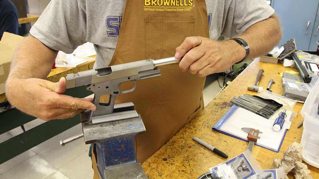 build a 1911 hand-lapping