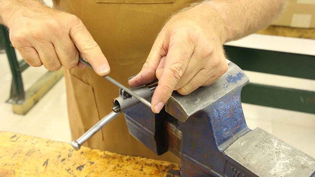 build a 1911 pistol filing