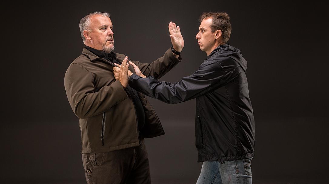 Hand-to-Hand Combat skills hands up
