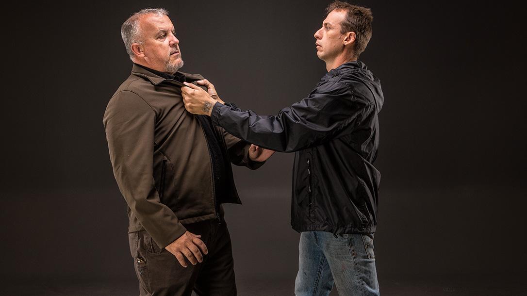 Hand-to-Hand Combat skills press draw tactic
