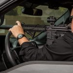 gunfight tactics car rifle shooting windshield