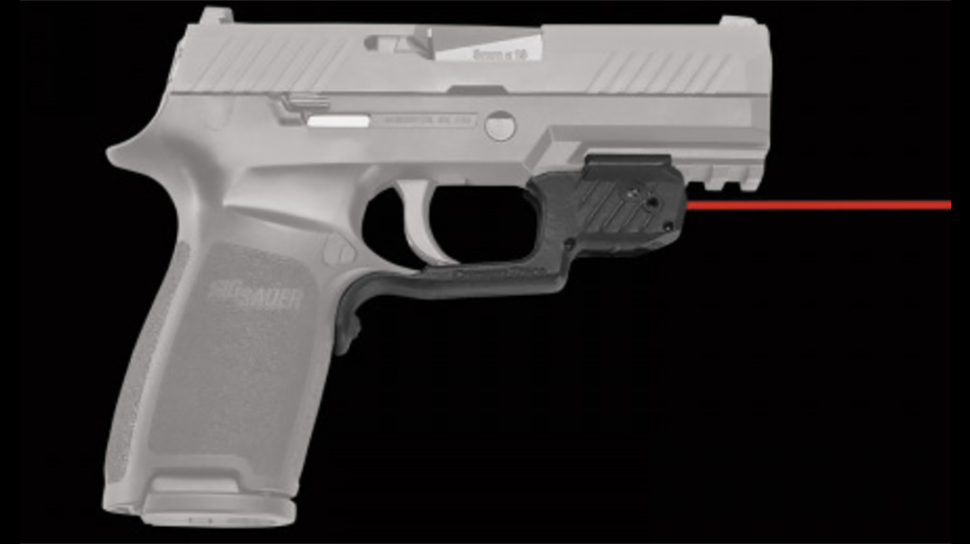 Crimson Trace LG-420 laserguard sig p320 right profile