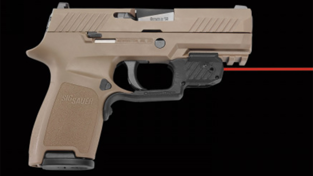 Crimson Trace LG-420 laserguard sig p320 m18 right profile