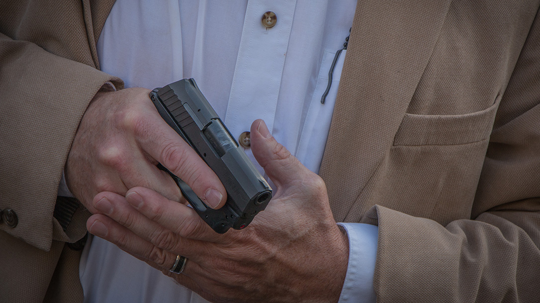 crimson trace laserguard remington rm380 pistol grip