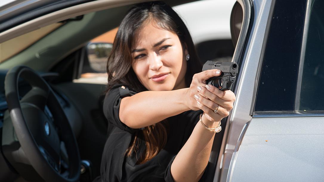 crimson trace laserguard remington rm380 pistol car