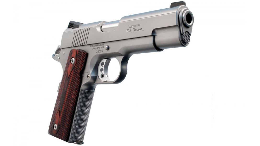 Ed Brown Executive Commander 1911 pistol right angle