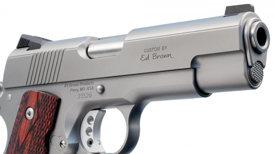 Ed Brown Executive Commander 1911 pistol slide