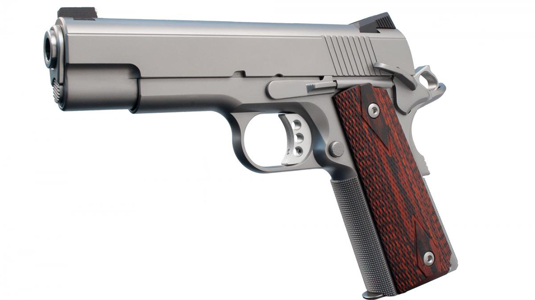 Ed Brown Executive Commander 1911 pistol left profile