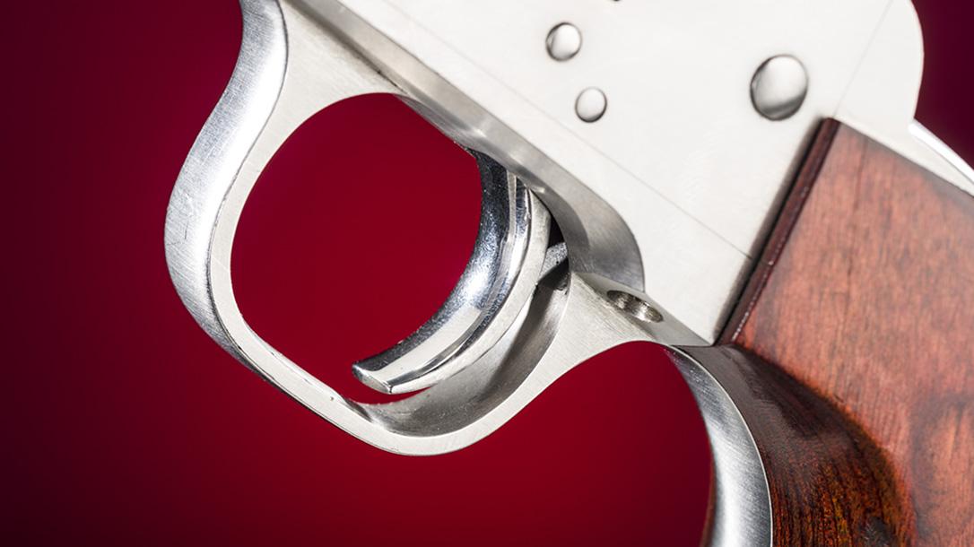 Freedom Arms Model 83 Premier Grade Stalker revolver trigger