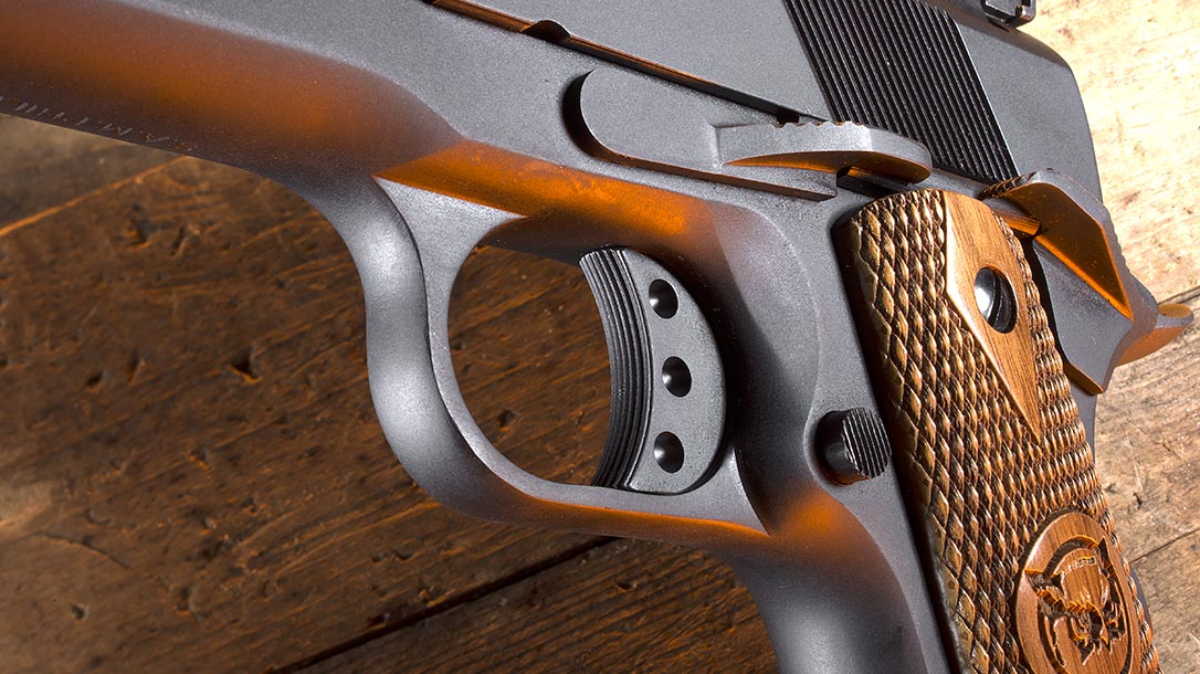 Iver Johnson Eagle XL pistol trigger