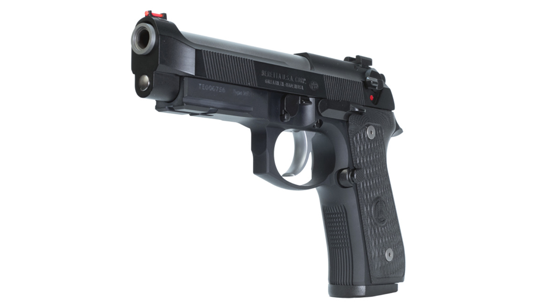 Langdon Tactical Beretta 92 Elite LTT pistol left angle