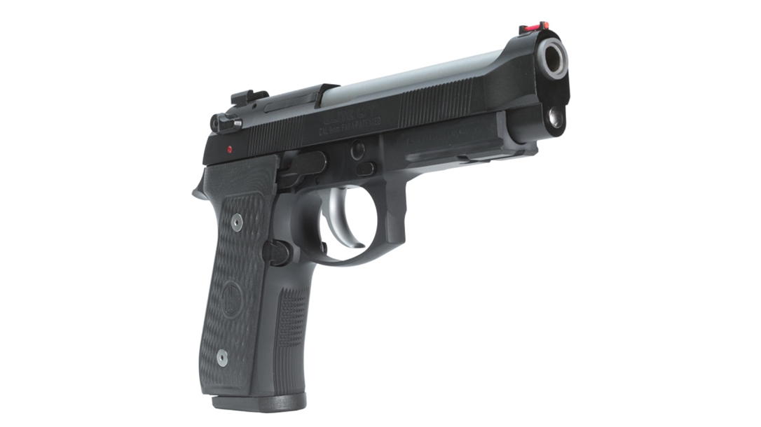 Langdon Tactical Beretta 92 Elite LTT pistol right angle