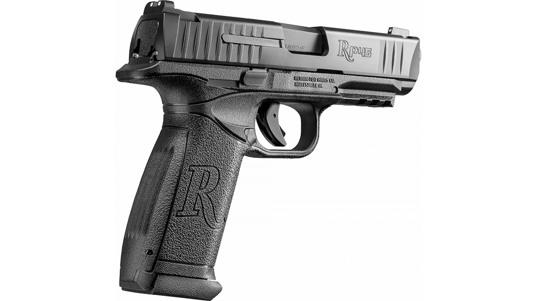 Remington RP45 pistol right angle