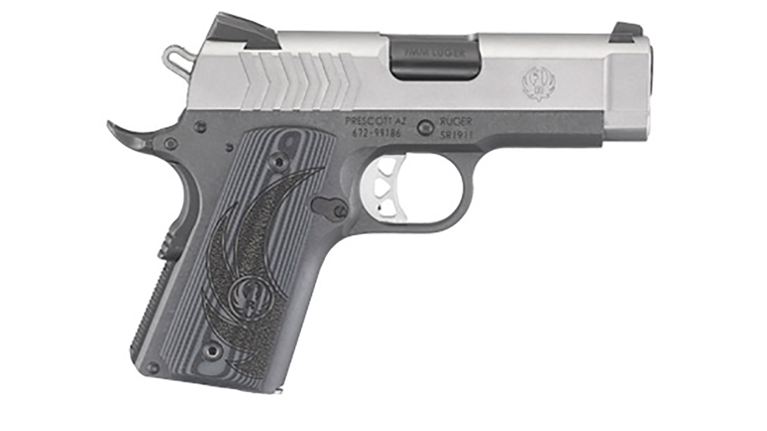 Ruger SR1911 Officer-Style pistol right profile
