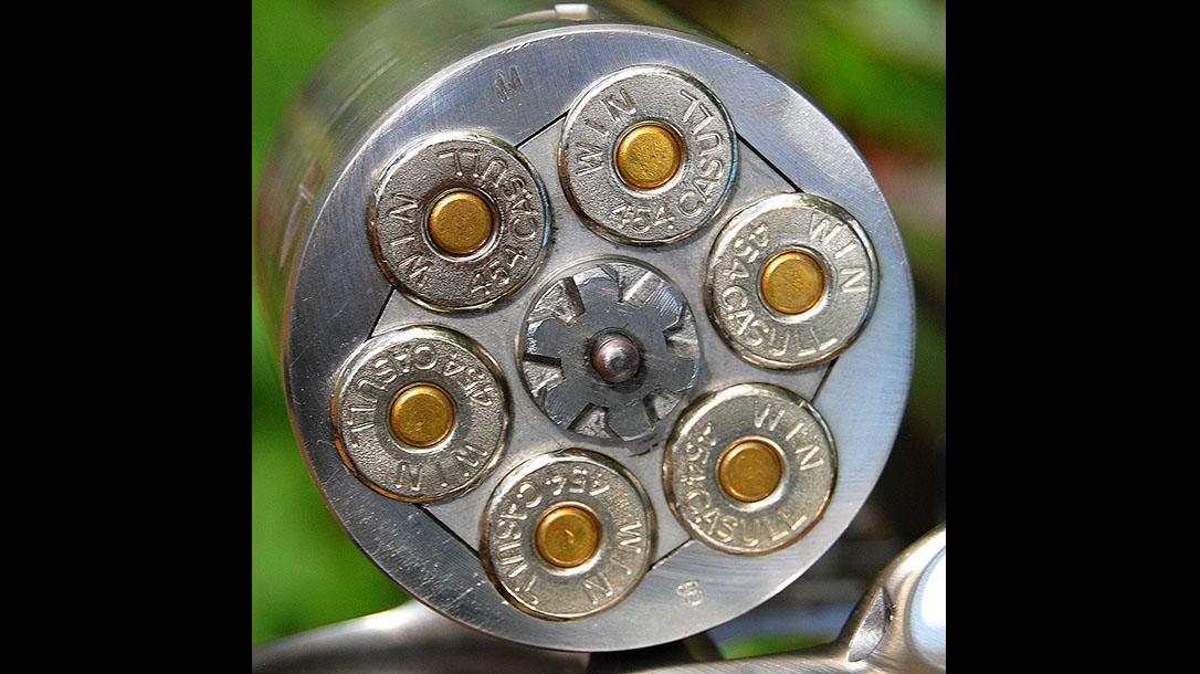 ruger super redhawk revolver cylinder