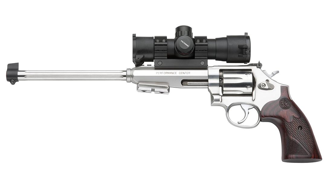 smith wesson model 647 varminter revolver left profile