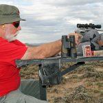 smith wesson model 647 varminter revolver bench shoot