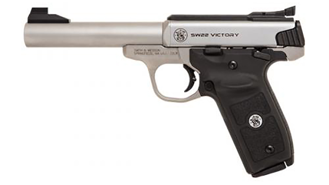SW22 Victory Target Model pistol left profile