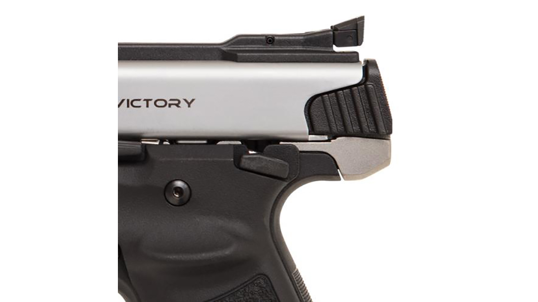 SW22 Victory Target Model pistol rear sight