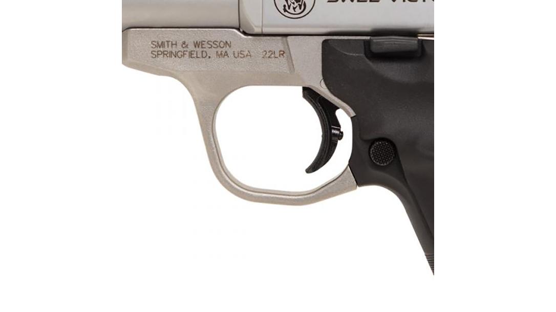 SW22 Victory Target Model pistol trigger
