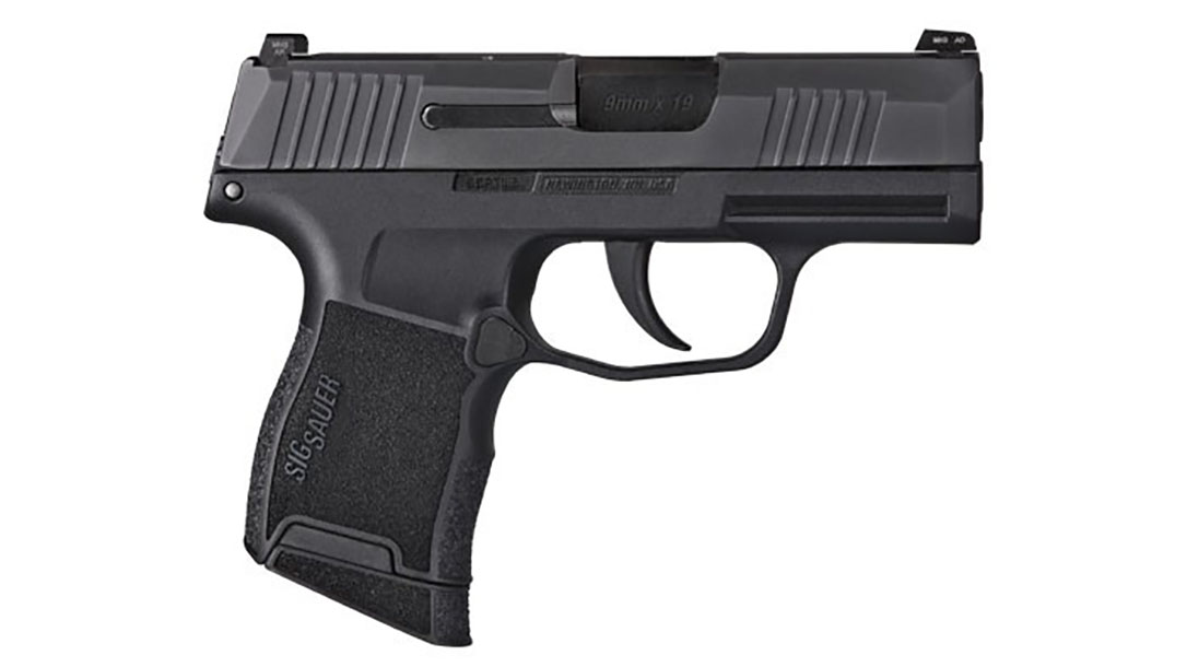 sig p365 pistol right profile