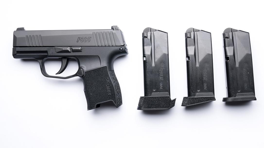 sig p365 pistol magazines
