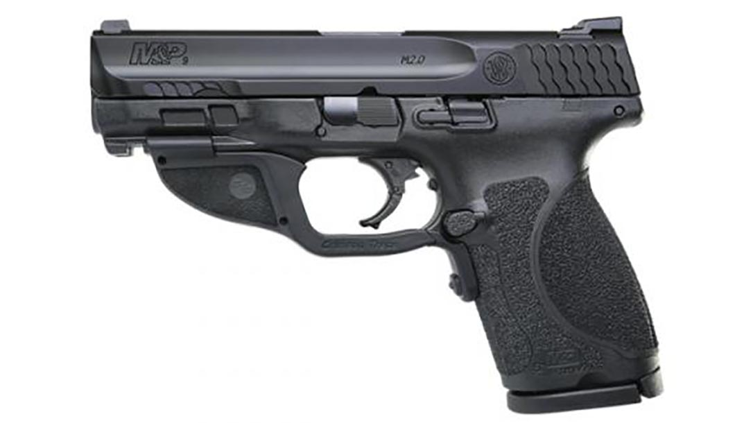 smith wesson M&P M2.0 Compact pistol left profile