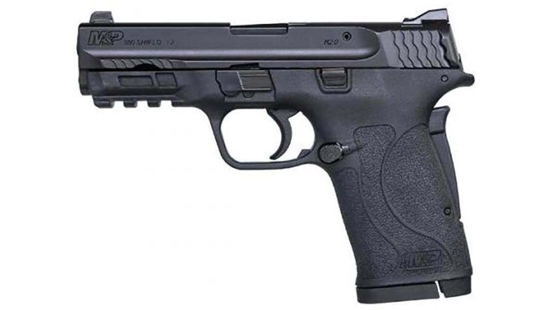 smith wesson m&p380 shield ez pistol left profile