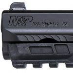 smith wesson m&p380 shield ez pistol rail and sight