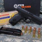Steyr L40-A1 pistol beauty shot