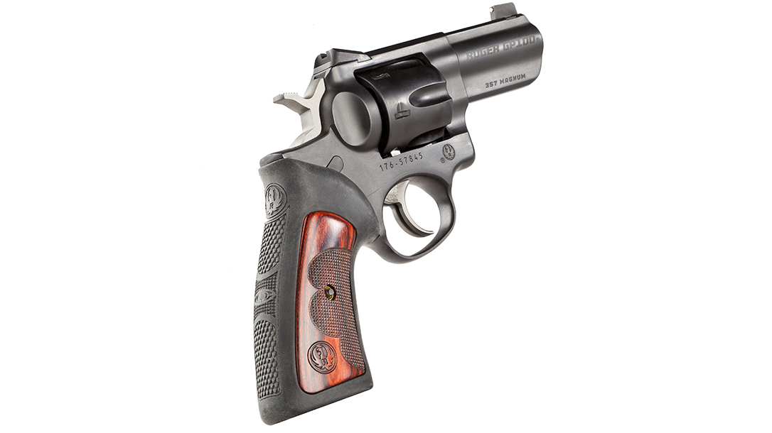 Wiley Clapp Ruger GP100 revolver rubber grip