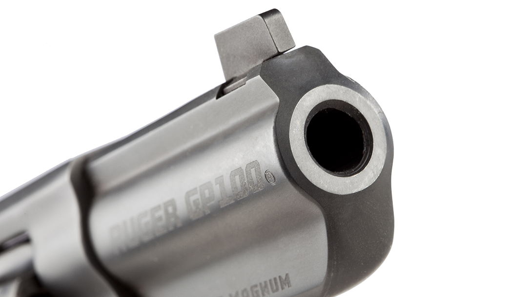 Wiley Clapp Ruger GP100 revolver barrel
