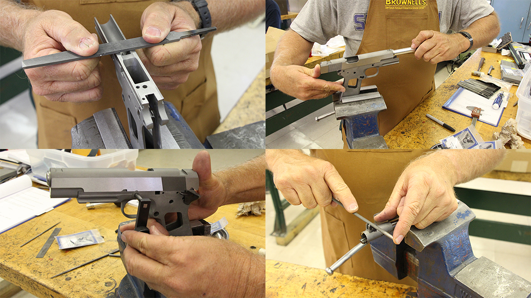 build a 1911 handgun steps