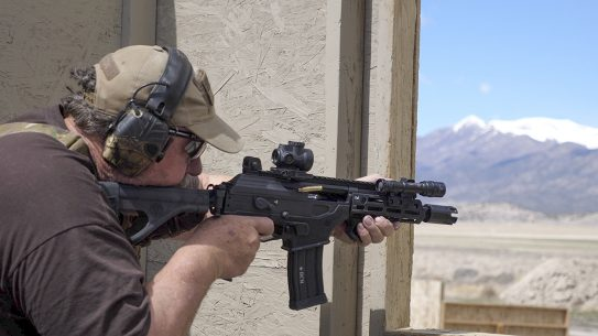 IWI Galil ACE 5.56 Pistol, Range home defense
