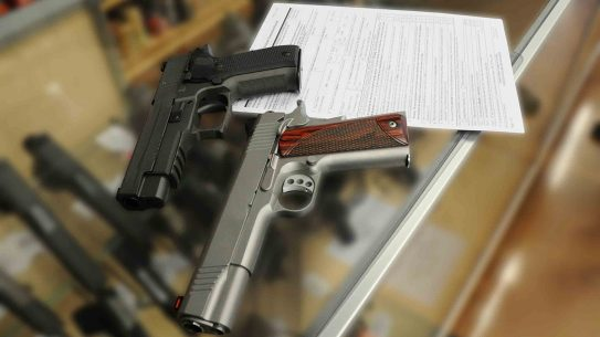 HR 5490 handgun license bill background check form