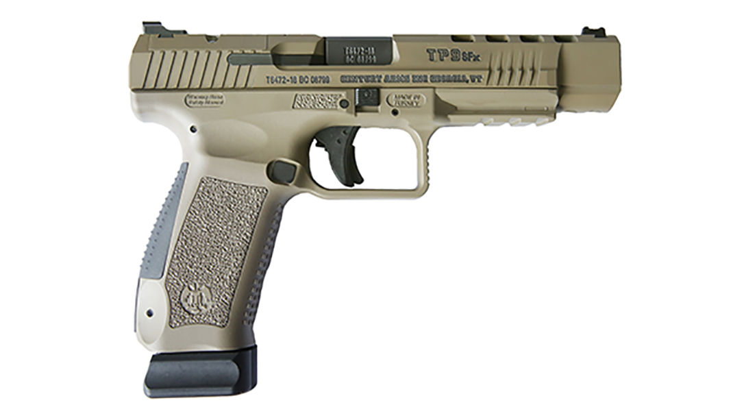 century arms Canik TP9SFx Pistol fde right profile