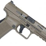 century arms Canik TP9SFx Pistol fde facing down