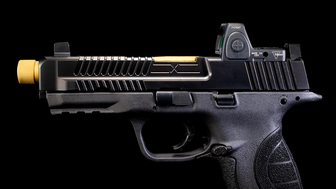 faxon firearms smith m&p slide left profile