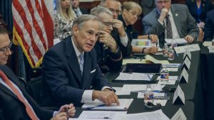 Texas Governor Greg Abbott first school safety discussion
