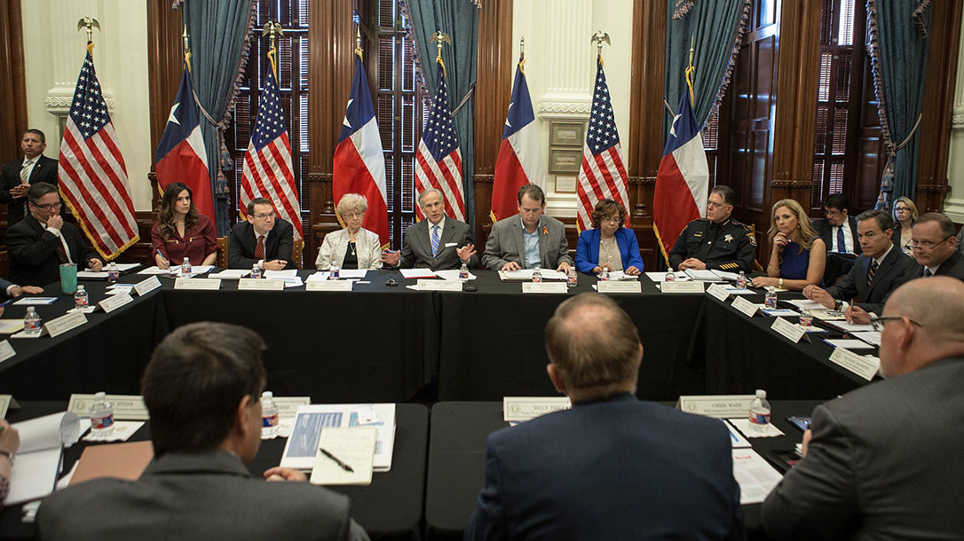 Texas Governor Greg Abbott second school safety discussion