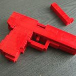 lego gun right profile