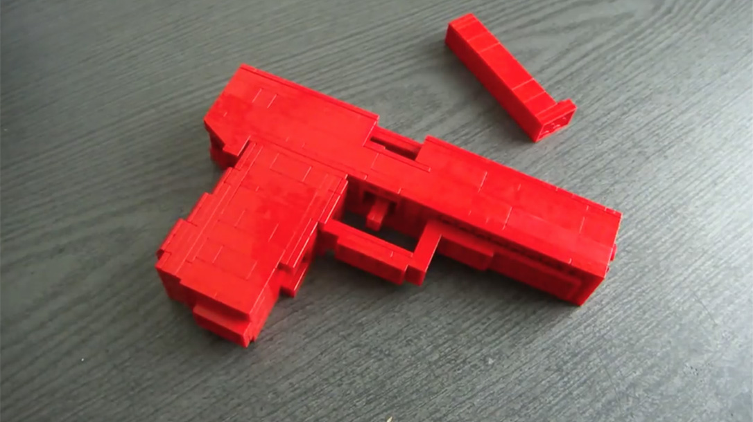 Connecticut School Calls Police After Student Builds Lego Gun